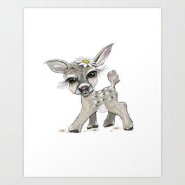 Bambi Dear Art Print