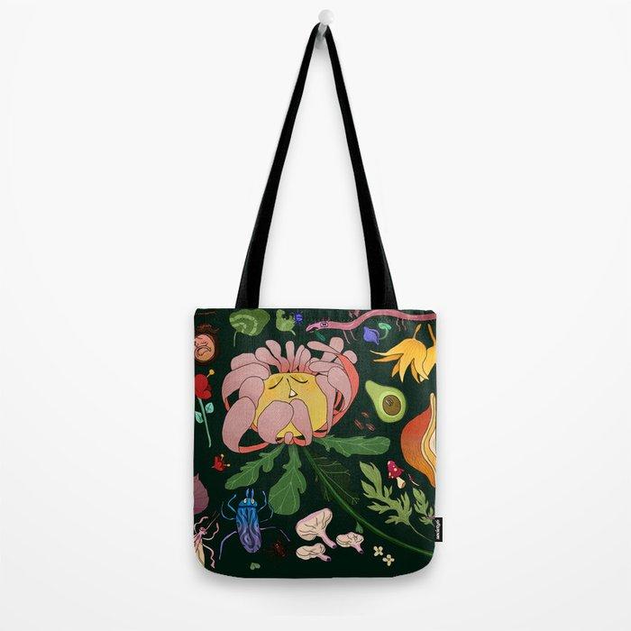 Magical flowers of Lamiak Tote Bag