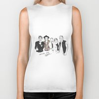 one direction Biker Tanks featuring One Direction by Stephanie Recking