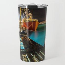 Light in the Wharf Travel Mug
