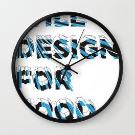 will design Wall Clock