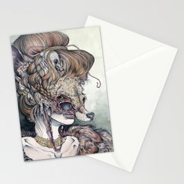 Vulpes Masquerade, now as a print! Stationery Cards