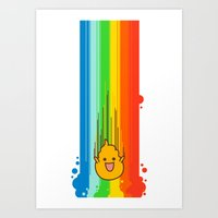 Overflowing with Awesomeness Art Print