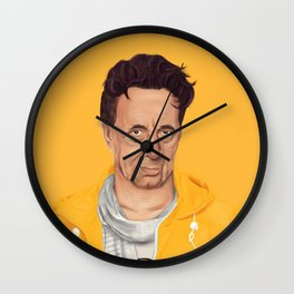 The Israeli Hipster leaders - Shimon Peres Wall Clock