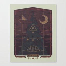 Mount Death Canvas Print