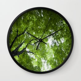 Leaves and Lace Wall Clock