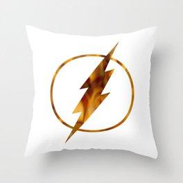 flash fire Throw Pillow
