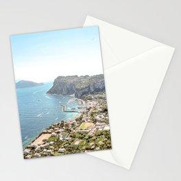 Above Sorrento Italy Stationery Cards