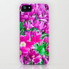 The beauty of the violet. iPhone Case