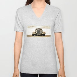 1933 Ford Coupe Unisex V-Neck