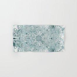 Yoga, Mandala, Prints Green, Wall Art Boho Hand & Bath Towel