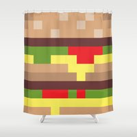 mac Shower Curtains featuring Bit Mac by Marc Beaudette