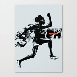 Forward - Run Canvas Print