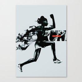 Forward - Run Canvas Print
