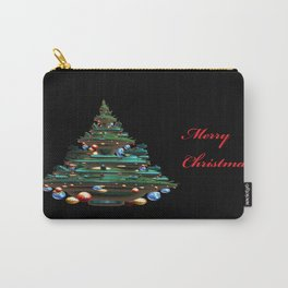 Fractal Christmas Tree Carry-All Pouch