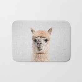 Alpaca - Colorful Bath Mat