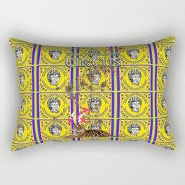 Bwilly Bwightt's Circus  Big Dirty Cat Rectangular Pillow