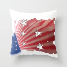 For All ... Throw Pillow