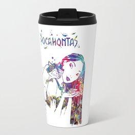 Pocahontas and Meeko Travel Mug