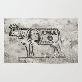BW Cash Cow Rug