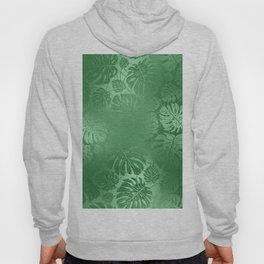 Green Leafs Pattern modern desig Hoody