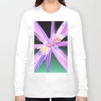 honeycomb Long Sleeve T-shirts featuring Honeycomb by Aqua Moon Coffee