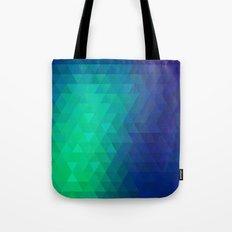 Retro pattern of triangles Tote Bag