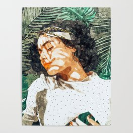 Rest #painting #tropical Poster