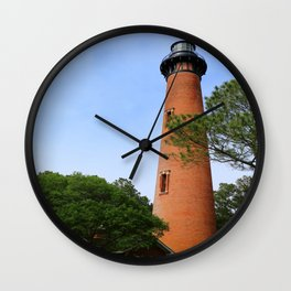 Currituck Beach Light Station Wall Clock
