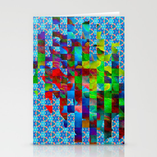 Cubed Stationery Cards