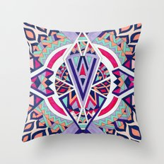 Abstract Journey II Throw Pillow