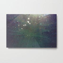 Light Particles Metal Print