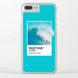 Pantone Series – Hawaiian Surf Clear iPhone Case