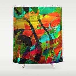 Base Layer Shower Curtain