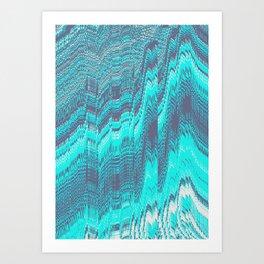 DIGITAL GLITCH 6 Art Print