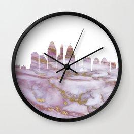 Cincinnati Skyline Ohio Wall Clock
