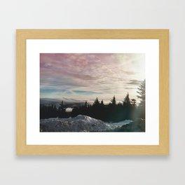 Northwest Sky Framed Art Print