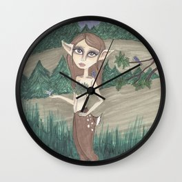 Satyr Wall Clock