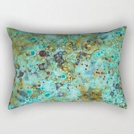 Copper Rain Rectangular Pillow