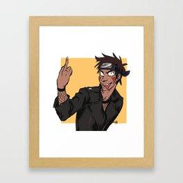 Kiba Framed Art Print