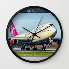 Jumo Jet at Manchester Wall Clock
