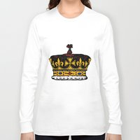 crown Long Sleeve T-shirts featuring Crown by Michael Keene