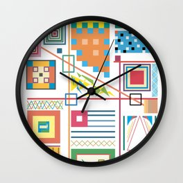 Crowded House Wall Clock