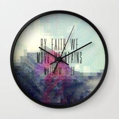 Matthew 17:20 Wall Clock