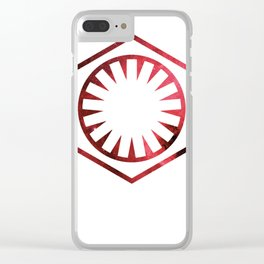 First Order Clear iPhone Case