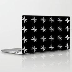 CROSS OUT BLK Laptop & iPad Skin