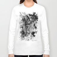 darwin Long Sleeve T-shirts featuring Darwin by Psyca
