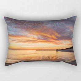 Biloxi Beach Colors Rectangular Pillow
