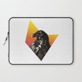 Low Poly Raven Laptop Sleeve