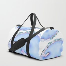 Iridescent agate Duffle Bag